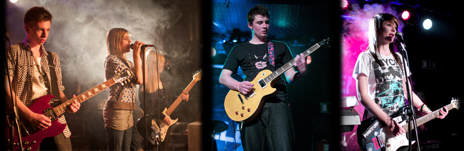 First set of band images